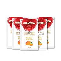 Пробник лубриканта з феромонами MAI ATTRACTION LUBS MANGO (10 мл)