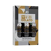 Набір System JO Tri-Me Triple Pack - Gelato (3 х 30 мл) три різних смаку серії Джелато