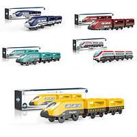 Поезд игрушечный AU9880-81-82-83-88  34см