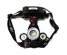 Ліхтар світлодіодний акумуляторний налобний FORSAGE F-01147