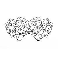 Маска на обличчя Bijoux Indiscrets - Kristine Mask, вінілова, клейове кріплення, без зав'язок