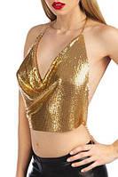 Прикраса на тіло Bijoux Pour Toi - Ambre Gold