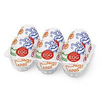 Набір Tenga Keith Haring EGG Street (6 яєць)