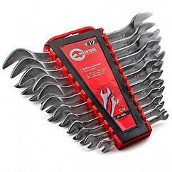 Набір ріжкових ключів 12 шт., 6-32 мм Cr.-V. INTERTOOL HT-1003