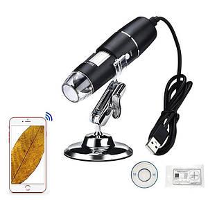 Wifi цифровий мікроскоп з 1000X кратним збільшенням Lefavor W04, з вбудованим акумулятором
