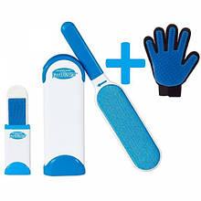 Щітка для чищення шерсті і пилу Fur Wizard рукавичка (up9239)