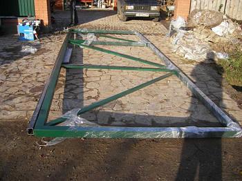 Ворота відкатні 3000х1600 - каркас (без зашиття)