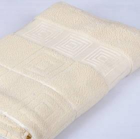 Полотенце махровое Pupila - Nazar молочный 70*140