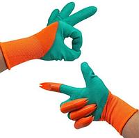 Садовые перчатки-грабли с когтями для работы в саду и огороде садовый инвентарь Garden Genie Glovers