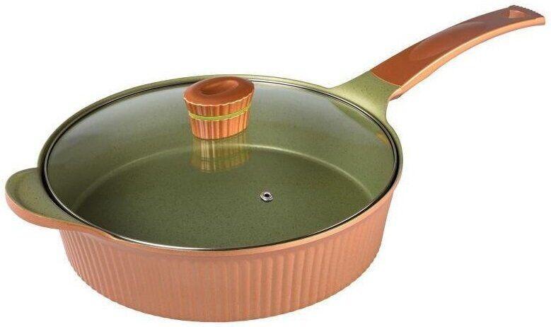 Сковорода глибока з керамічним покриттям Florina Modi Z/P 28 см (1P0096)