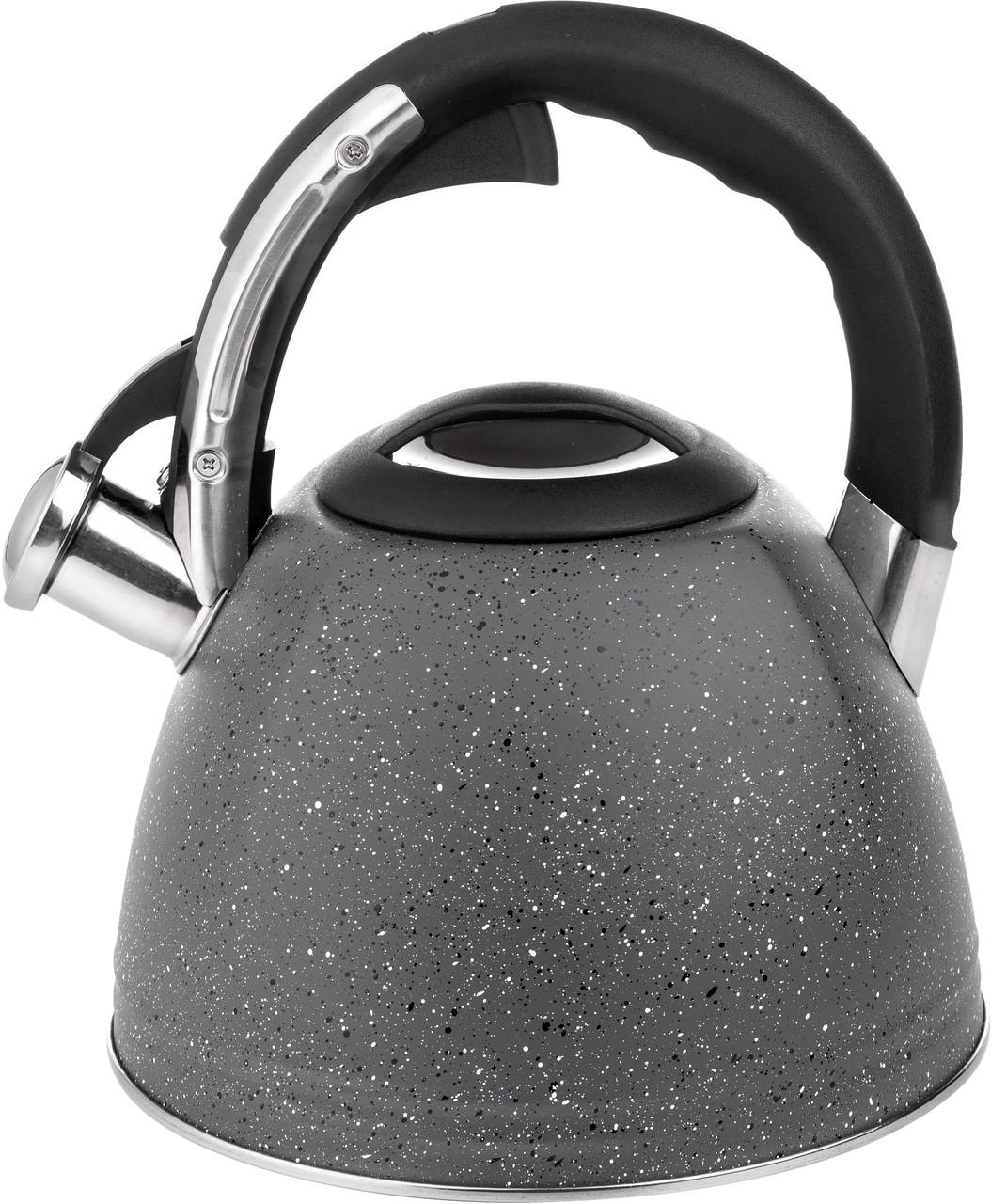 Чайник Florina Onyx со свистком 2.5 л (5C7597)
