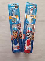 Детская электрическая зубная щетка SpinBrush Kids Arm & Hammer Spinbrush Toothbrush, iHerb США, щенячий патрул