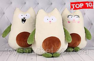 Игрушка Авокадо - Кот, игрушка - подушка, 45 см.