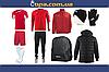 Зимовий набір футболіста Joma Champion IV (10 предметів) (червоно-білий)