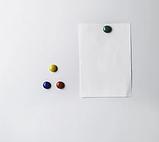 Магнітно-маркерна дошка 45х60 см в алюмінієвій рамі UkrBoards. Біла дошка для малювання маркером, фото 4