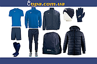 Зимний набор футболиста Joma Combi (10 предметов) (синий)