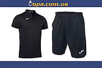 Комплект Joma Hobby (поло+шорты) 100437.100+100438.100