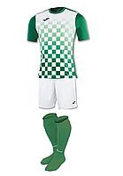 Комплект футбольної форми Joma FLAG - (біло-зелений)