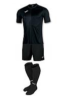 Комплект футбольної форми Joma TIGER - (чорний)