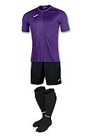 Комплект футбольної форми Joma TIGER - (фіолетовий)