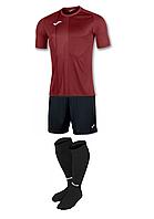 Комплект футбольної форми Joma TIGER - (бордовий)