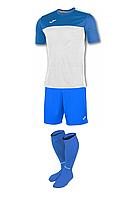 Комплект футбольної форми Joma WINNER - (біло-синій)