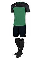 Комплект футбольної форми Joma WINNER - (чорно-зелений)
