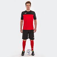 Комплект футбольної форми Joma WINNER - (червоно-чорний)