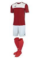 Комплект футбольної форми Joma WINNER - (червоно-білий)