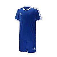 Комплект детской футбольной формы Kelme COLLEGUE (синий/белый) 3883033-409