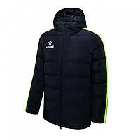 Дитяча спортивна куртка Kelme NEW STREET (чорний/жовтий) 3883405-012