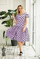 Жіноче плаття великі розміри 48-60, фото 1