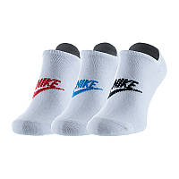Спортивні шкарпетки Nike U NK NSW EVERYDAY ESSENTIAL NS 3PR SK0111-911