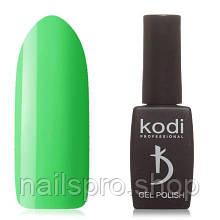 Гель-лак №130BR Kodi Professional 8 мл, зеленый