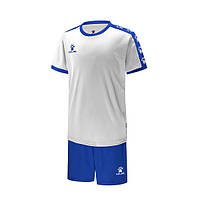 Комплект детской футбольной формы Kelme COLLEGUE (белый/синий) 3883033-104