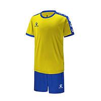 Комплект детской футбольной формы Kelme COLLEGUE (желтый/синий) 3883033-714
