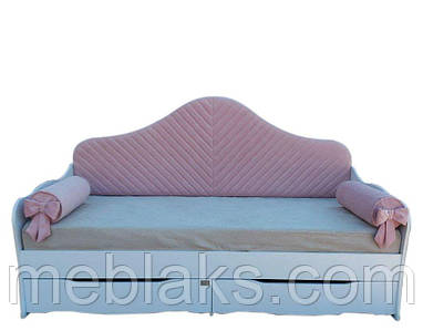 """Мягкая кровать для детей """"Ева"""" ( с подушками)"""
