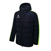 Куртка дитяча чорно-жовта Kelme NEW STREET 3883405.9012