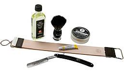 Набор для бритья Boker Stainless black set