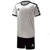 Комплект детской футбольной формы Kelme COLLEGUE (белый/черный) 3883033.103