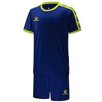 Комплект детской футбольной формы Kelme COLLEGUE (синий/желтый) 3883033.944