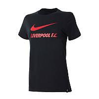 Футболка  LFC W NK TEE TRN GROUND Nike CZ8214-010