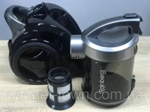 Пылесос Rainberg колбовый HEPA фильтр регулятор мощности 3,5L - 2500 W