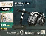 Пылесос Rainberg колбовый HEPA фильтр регулятор мощности 3,5L - 2500 W, фото 3