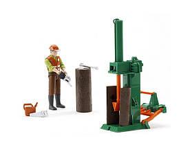 Игрушка - фигурка рабочего леса с аксессуарами 62650