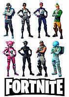 Вафельна картинка для тортів FORTNITE 5