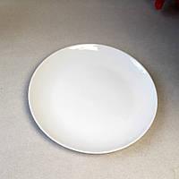 Закусочная плоская тарелка без бортов HLS 180 мм  (A1107)
