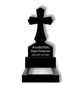 Гранітний хрест на могилу (100-50-5) №308