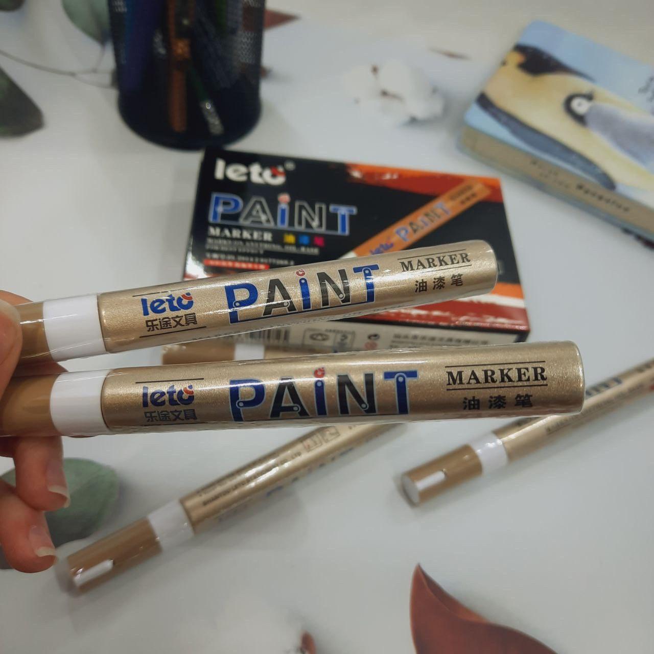 Маркер краска промышленный Paint белый