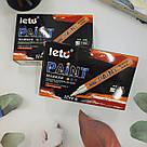 Маркер краска промышленный Paint белый, фото 2